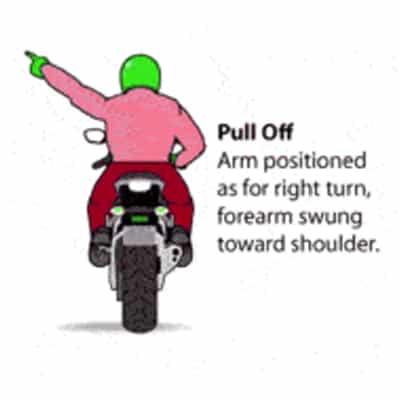 Motorbike Pull Off