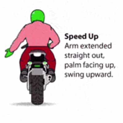 Motorcycle Speed Up