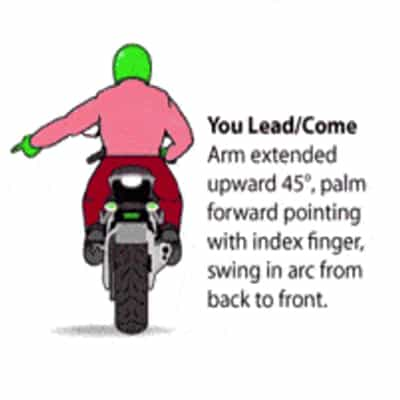 Come on a Motorcycle You Lead